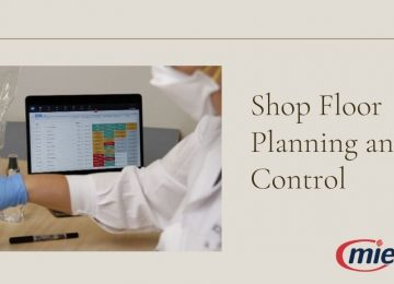 Shop Floor Planning and Control