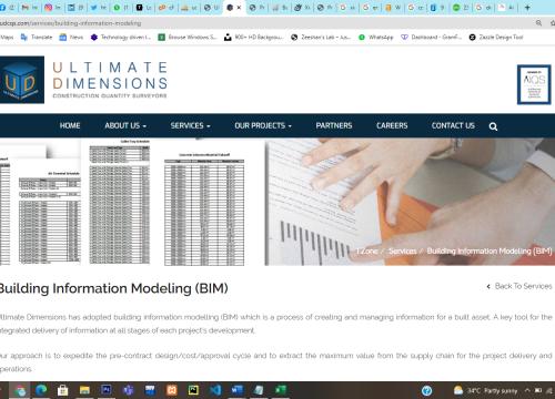 Building info Modelling (BIM)