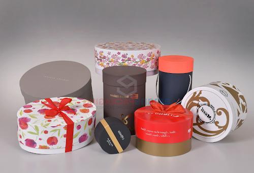 custom round boxes