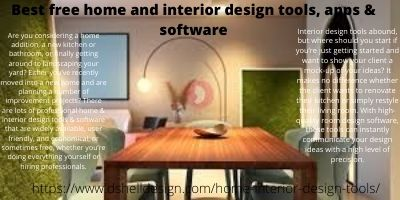 Best free home and interior design tools, apps & software