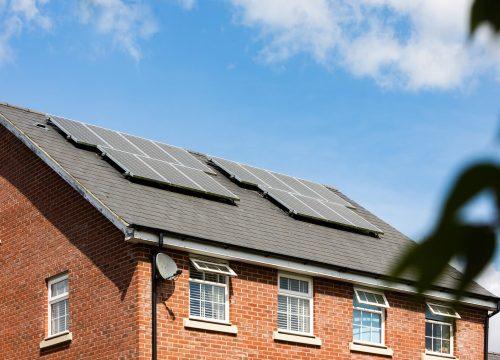 Pexels - home roof solar panels